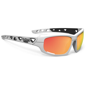 Rudy Project Airgrip Glasses White Gloss/Multilaser Orange